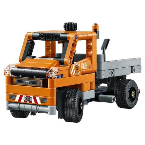 LEGO Technic: Дорожная техника 42060 — Roadwork Crew — Лего Техник