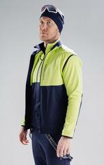 Утеплённая лыжная куртка Nordski Premium Green-Blueberry 2020