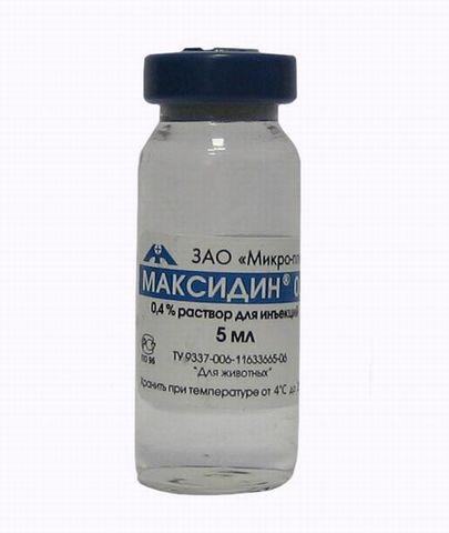 Maxidin 0.15 (drops eye and intranasal) 1 piece 5 ml