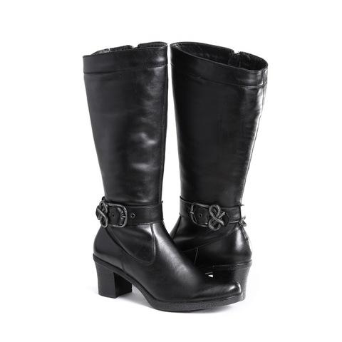 364550 сапоги женские. КупиРазмер — обувь больших размеров марки Делфино