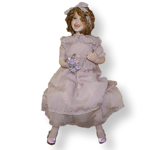 Кукла фарфоровая коллекционная Marigio Шарлотта