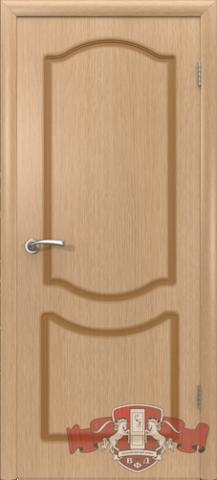 Дверь Владимирская фабрика дверей Классика 2ДГ1, цвет светлый дуб, глухая