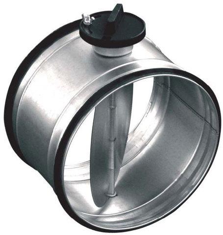 Дроссель-клапан с ручным управлением Salda SK d 200 мм (Латвия)