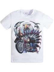 BK003-32 футболка детская, белая