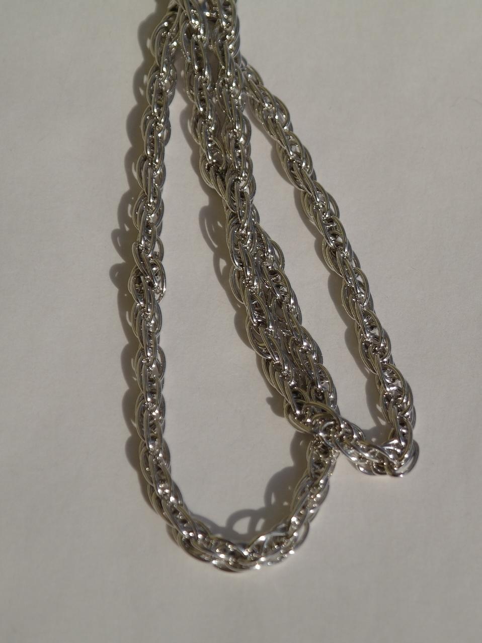 Купить Серебряные украшения,цепочка. Серебро 925 пробы. Диаметр 1,0 ... abdef27869b