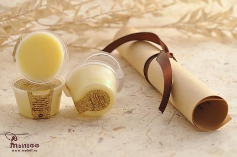 Масло косметическое твердое (баттер) для тела и рук Марокканское золото с экстрактом календулы и витамином Е, 25 г, ТМ Мылофф