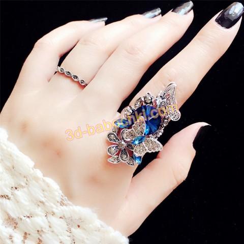 кольцо с фианитом серебро