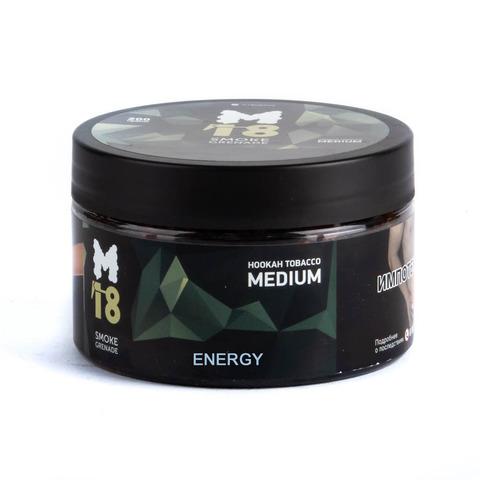 Табак M18 Medium Energy (Энергетик) 200 г
