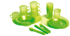 Набор пластиковой посуды Forester на 6 персон