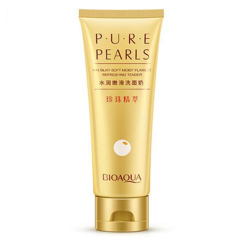 Пенка для умывания с жемчужной пудрой Pure Pearls, 100гр