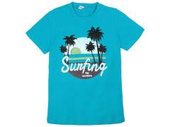 18059-2 футболка для мальчиков, бирюзовая