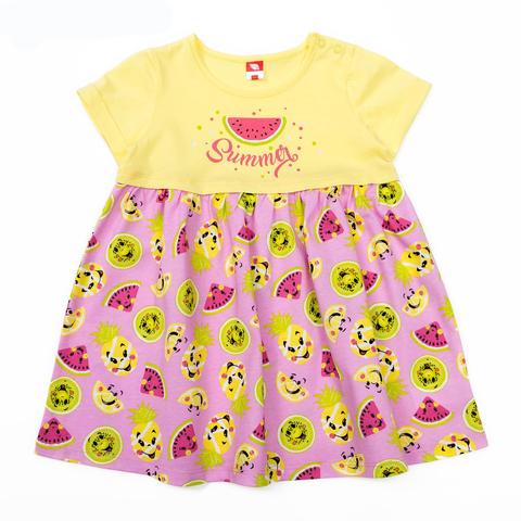Cherubino Платье ясельное CSB61827 желтое