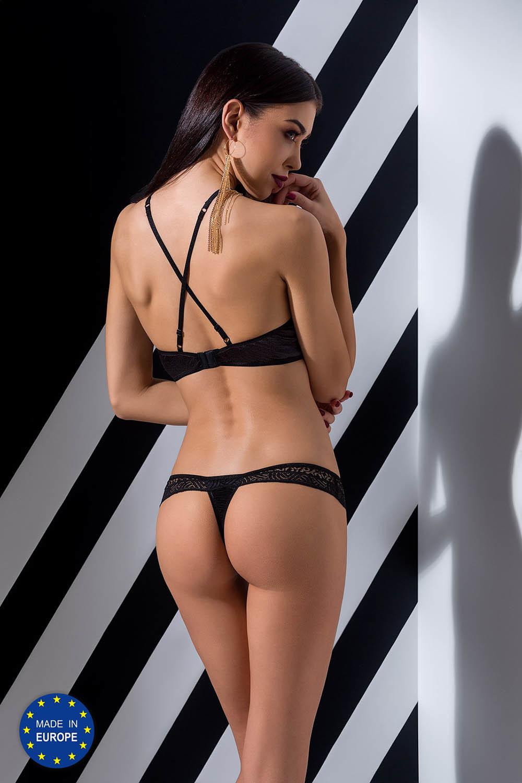 Комплект белья черный Scarlet