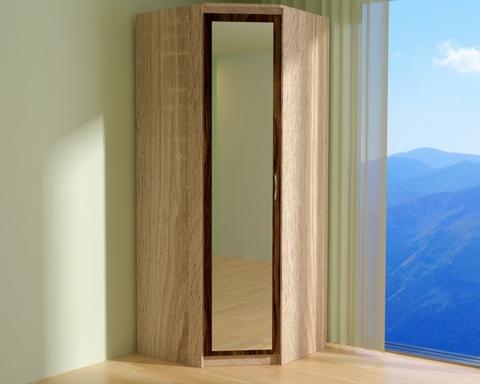 Шкаф угловой ВЕНА с зеркалом