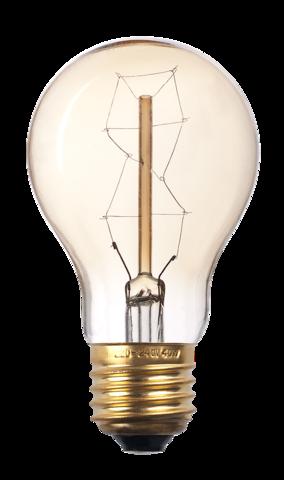 Лампа накаливания декоративная RETRO GOLD A60 GOLD 60w E27