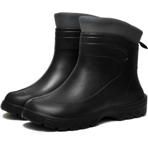 Резиновые ботинки Nordman Fit черные утепленные
