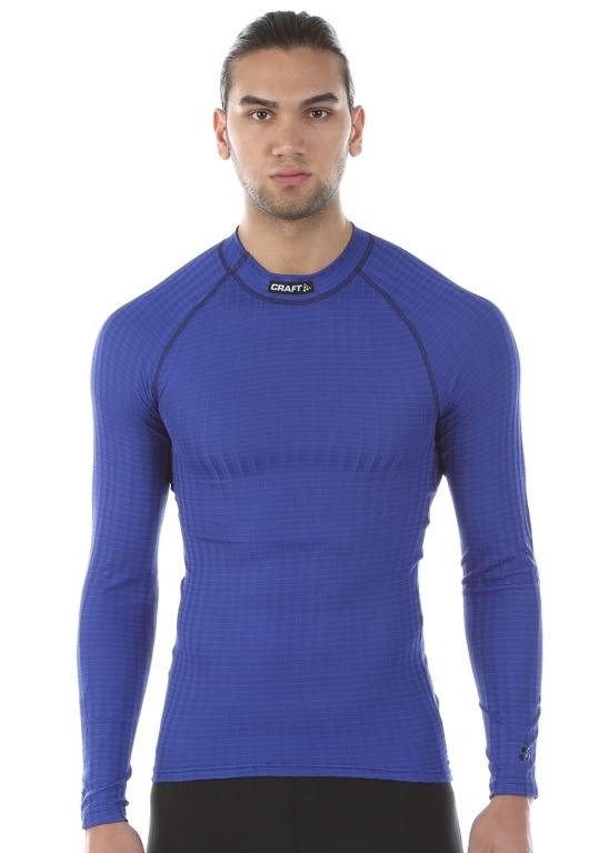 Мужское термобелье рубашка Craft Active Extreme синий (190983-2344) фото