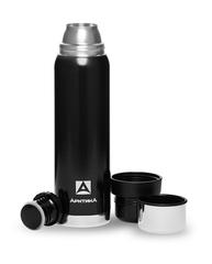 """Термос """"Арктика"""" бытовой, черный 1,2 литра"""
