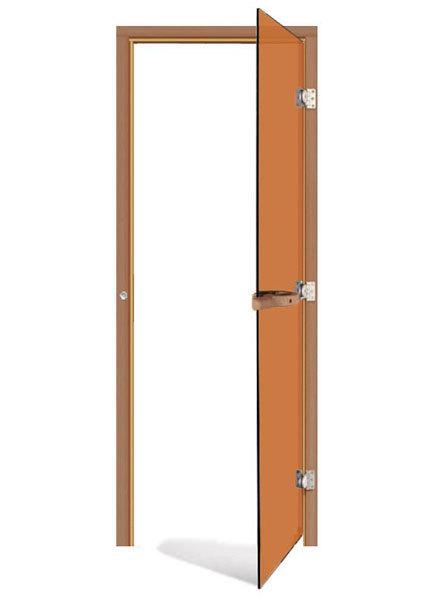 Двери: Дверь SAWO 730-3SGD-R 7/19 (бронза, правая, без порога) шкаф изотта 23к дверь правая ангстрем