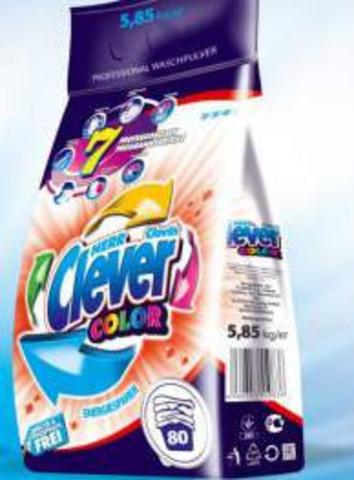 HERR CLEVER Color – стиральный порошок для цветных тканей 4.2кг