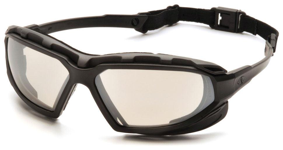 Очки баллистические тактические Pyramex Highlander-Plus SBG5080DT Anti-fog зеркально-серые 50%