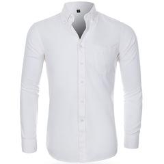 Мужская рубашка с длинным рукавом Slim Fit