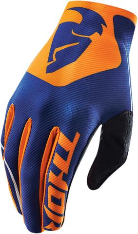 Мотоперчатки - THOR VOID BEND NAVY (оранжевые)