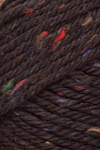Пряжа Laines du Nord Holiday Tweed 10 горький шоколад