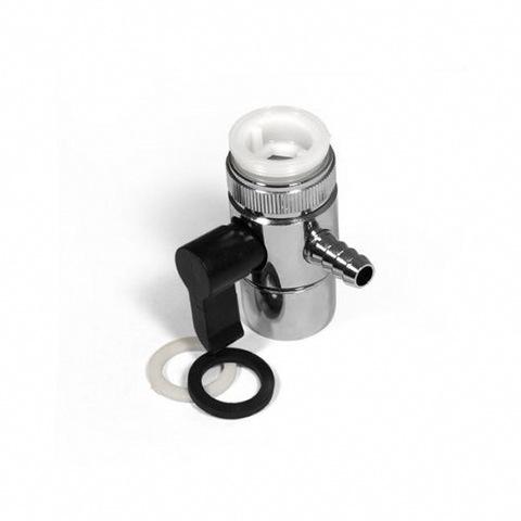 Переходник на кран универсальный с переключателем 10,5 миллиметра (дивертор)