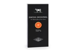 Горький шоколад с кусочками апельсина Swiss Original, 100г