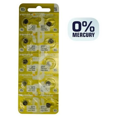 Батарейки часовые Renata SR626SW (MP-E) (377)