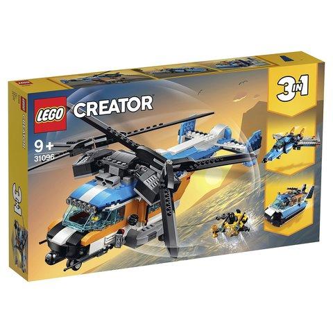 LEGO Creator: Двухроторный вертолет 31096 — Twin-Rotor Helicopter — Лего Креатор Создатель