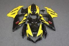 Комплект пластика для мотоцикла Suzuki GSX-R600/750 08-10 Желто-Черный
