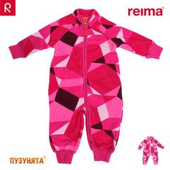 Флисовый комбинезон Reima Villi 516217-4831 BERRY PINK