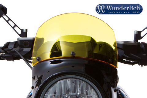 Спойлер на передний обтекатель VINTAGE BMW R NineT желтый
