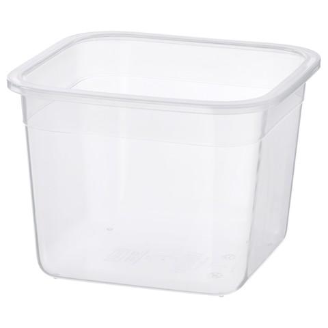 ИКЕА/365+ Контейнер для продуктов четырехугольной формы, пластик