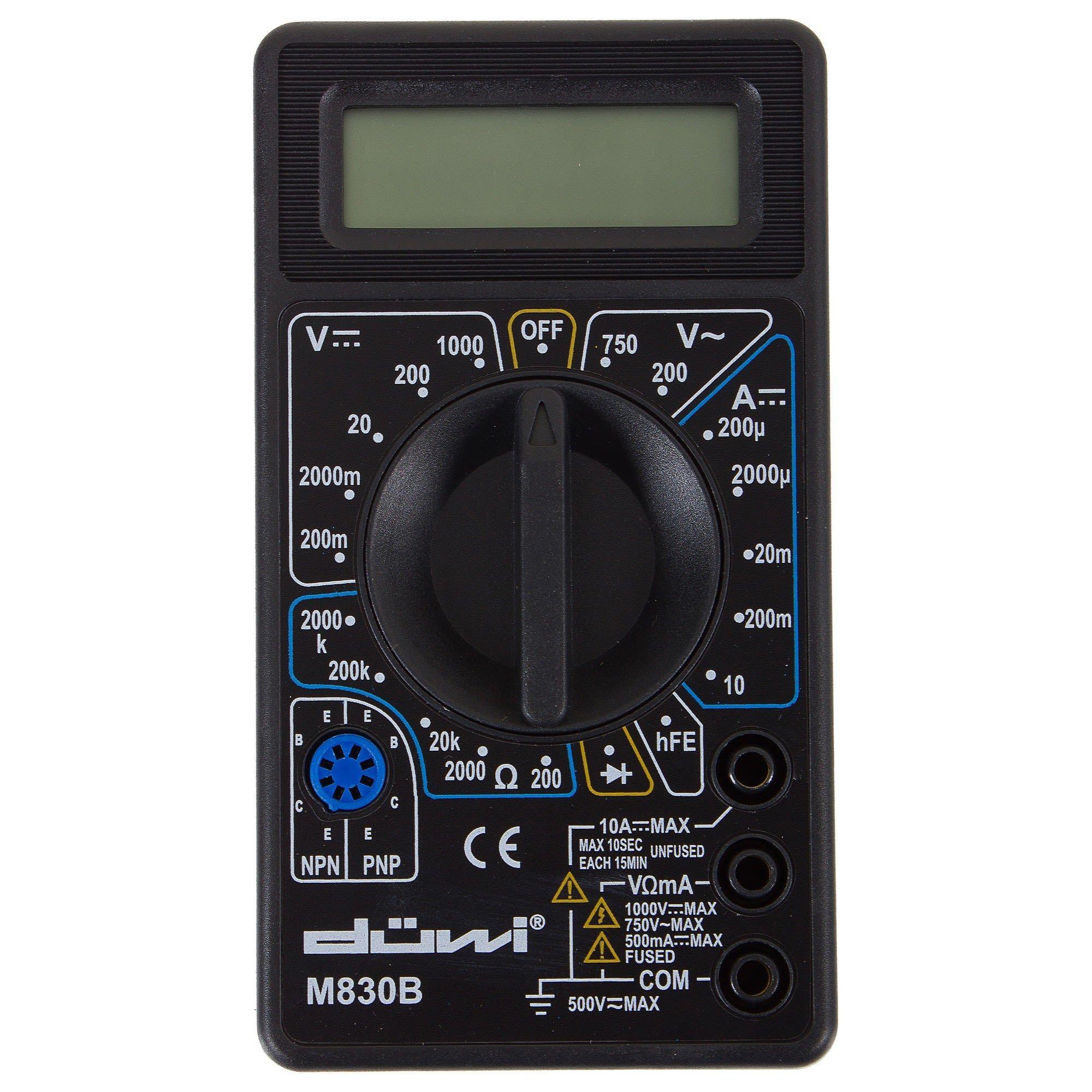 Цифровой мультиметр duwi M830B PROFI