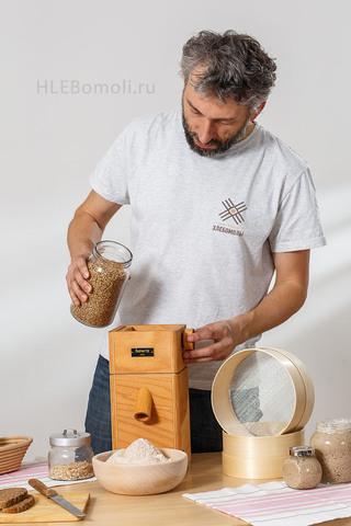 Набор Мельница Hawos Easy и Зернодавилка Luba Anni