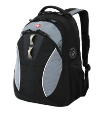 Рюкзак WENGER, цвет черный/серый (16062415)