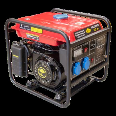 Генератор бензиновый инверторного типа DDE GG3300Zi (1ф 3,2 кВт, т/бак 9 л, ручн/ст, 35кг)