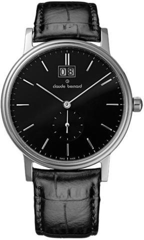 Купить мужские наручные часы Claude Bernard 64010 3 NIN по доступной цене