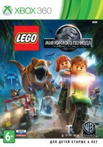 Microsoft Xbox 360 LEGO Мир Юрского Периода (русские субтитры)