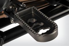 Подножки заниженные BMW R1200GS/GSA титан