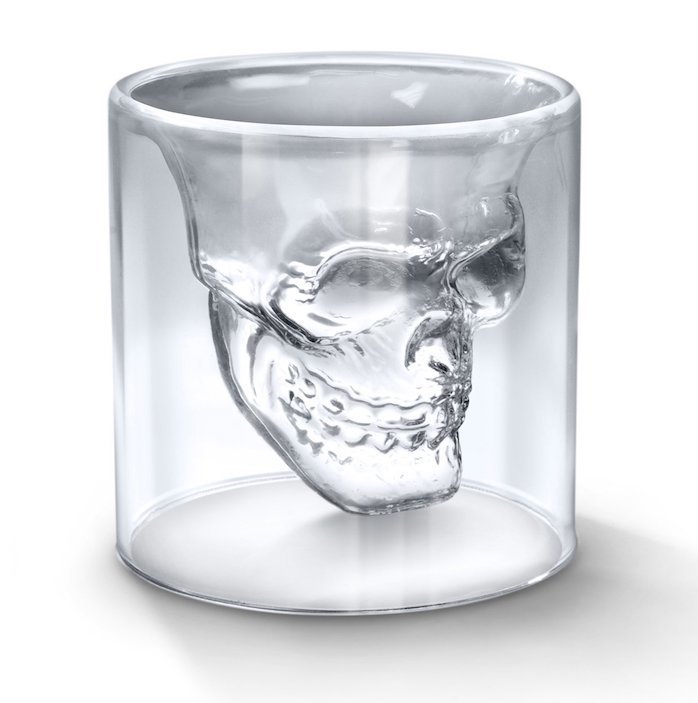 Товары для кухни Стакан-череп с двойными стенками Doomed Skull Doomed_Skull.jpg