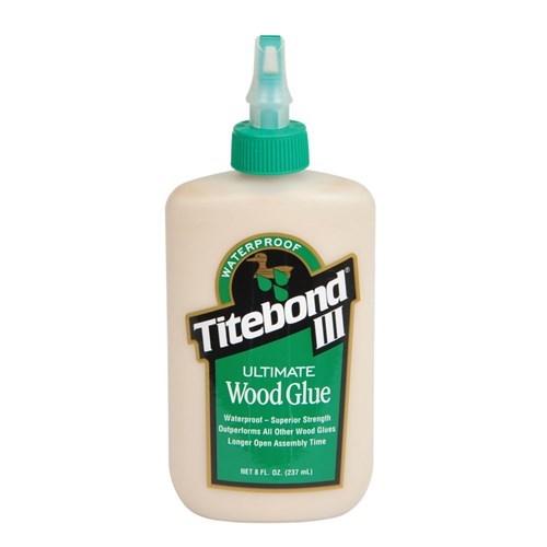 Titebond III Ultimate Wood Glue 237мл клей для дерева влагостойкий