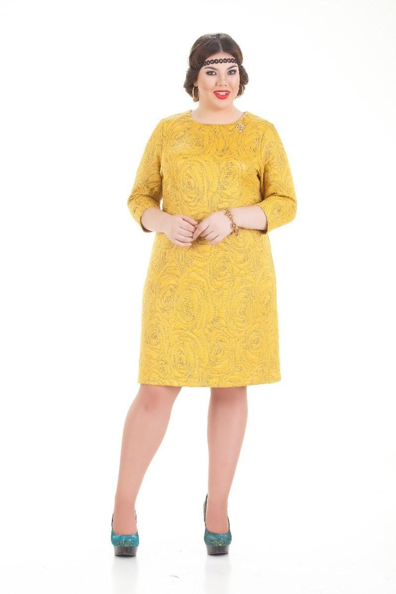 Платья Платье Номи горчичный 1174.jpg