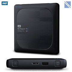Жесткий диск беспроводной Western Digital 4TB My Passport Wireless Pro USB 3.0 WD