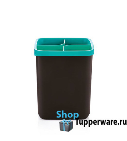подставка для кухонных приборов в зеленом цвете