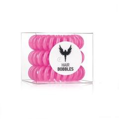 Силиконовая резинка для волос Hair Bobbles  - Розовая, 3 шт