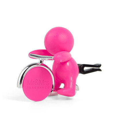 Ароматизатор для автомобиля GINO Цитрус и мускус (фуксия), Mr&Mrs Fragrance